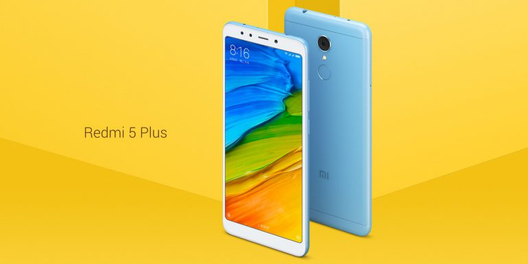 Представлены бюджетные смартфоны Xiaomi Redmi 5 и Redmi 5 Plus в новом полноэкранном дизайне. И опять без NFC
