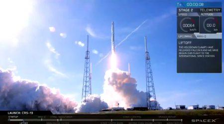 Обновлено: SpaceX впервые запустила вместе уже летавшие ракету Falcon 9 и корабль Dragon. И в двадцатый раз вернула первую ступень!
