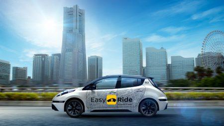 В следующем году в Японии стартует публичное тестирование сервиса беспилотных такси Easy Ride на основе электромобилей Nissan Leaf