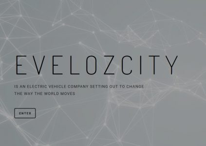 """Выходцы из Faraday Future основали стартап Evelozcity, который обещает создать """"самый конкурентоспособный, функциональный и подключенный электромобиль"""" в мире"""