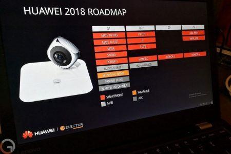 Дорожная карта Huawei рассказывает об устройствах производителя на 2018 год, флагманские смартфоны Huawei P20, P20 Plus и P20 Lite ожидаются на MWC 2018