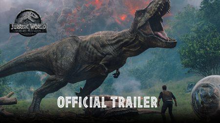 Первый полноценный трейлер фильма «Мир Юрского периода: Падшее царство» / Jurassic World: Fallen Kingdom