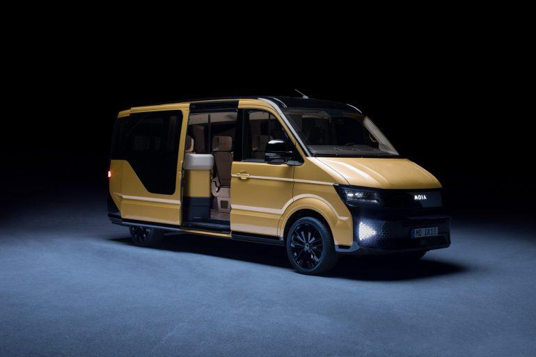 Volkswagen представил электрический минивэн MOIA с запасом хода 300 км, предназначенный для карпулинга в крупных городах