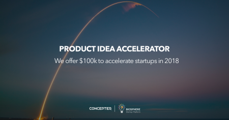 Украинский Concepter запускает акселератор Product Idea Accelerator с бюджетом $100 тыс. для технологических краудфандинговых проектов