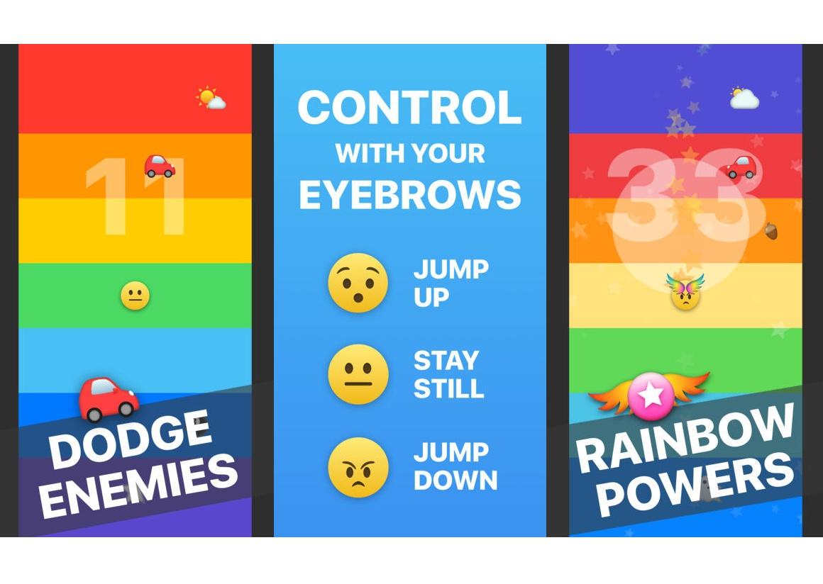 Для iPhone X выдумали игру, вкоторую нужно играть бровями