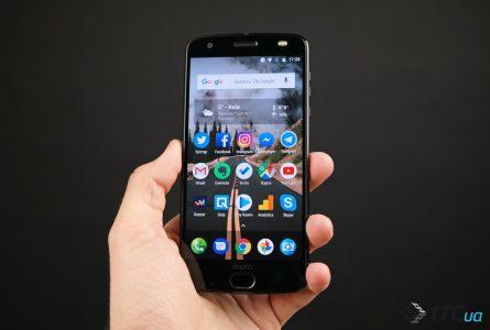 Обзор смартфона Motorola Moto Z2 Force