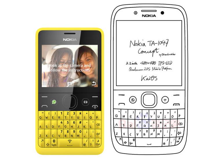 Нокиа готовит бюджетный смартфон сQWERTY-клавиатурой