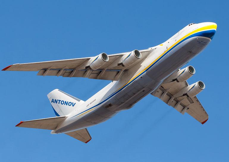 Ан-124 получил договор на транспортировку спутниковЕС