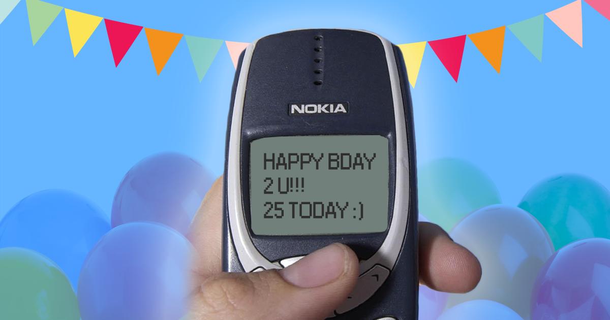 SMS-сообщениям исполнилось 25 лет