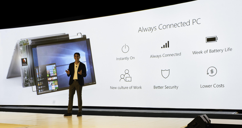 Microsoft и Qualcomm представили первые ноутбуки на архитектуре ARM с Windows 10 – трансформируемый планшет HP Envy x2 и гибридный мобильный ПК ASUS NovaGo