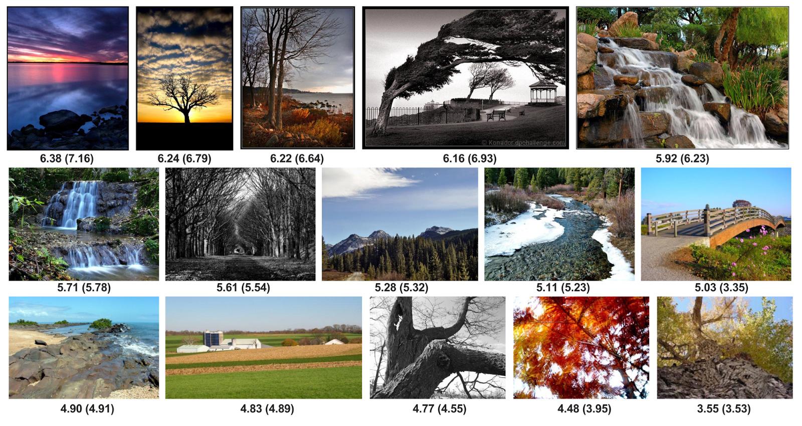 В Google научили ИИ оценивать красоту фото и предсказывать шансы на получение лайков