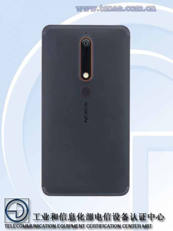 В базе данных TENAA замечен смартфон Nokia 6 (2018) с экраном 18:9