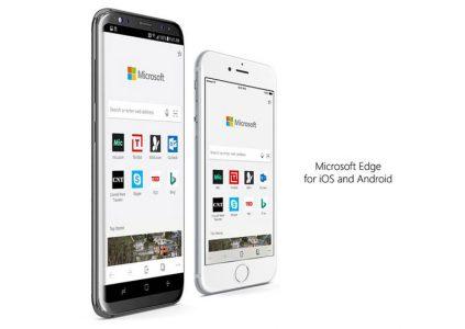 Мобильный браузер Microsoft Edge стал доступен всем пользователям Android и iOS
