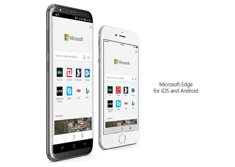 Мобильный браузер Microsoft Edge стал доступен всем пользователям андроид иiOS