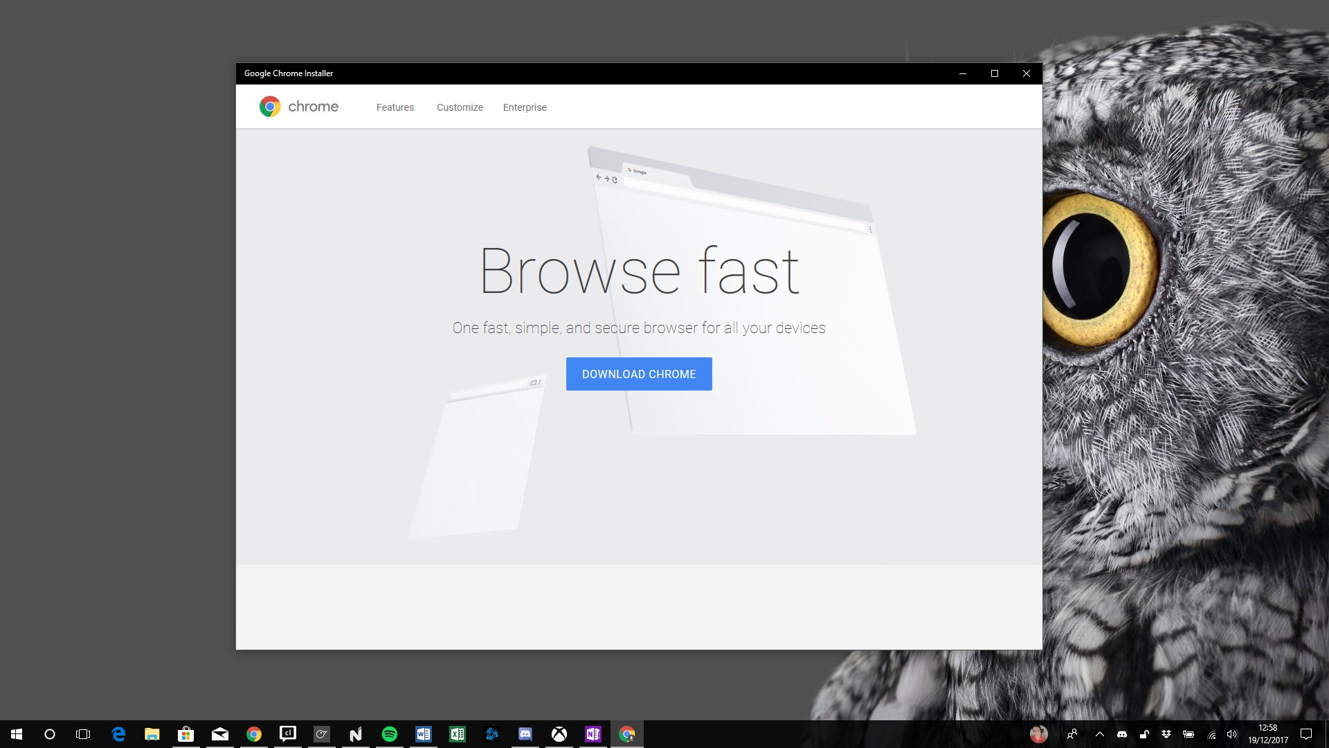 Microsoft убрал установщик Google Chrome изсвоего магазина приложений