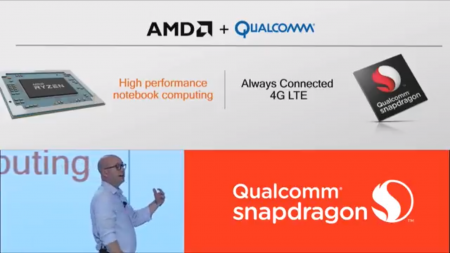 AMD сотрудничает с Qualcomm в разработке новых мобильных ПК Always Connected PC