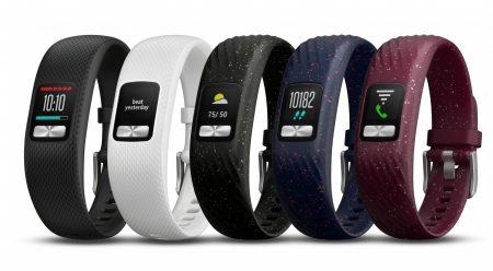 Новый трекер активности Garmin Vivofit 4 способен проработать автономно до года даже с постоянно включенным цветным экраном