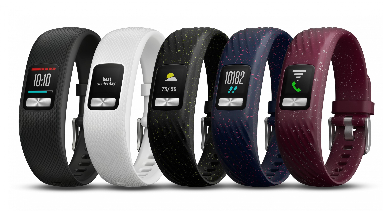 Фитнес-браслет Garmin Vivofit 4 может проработать наодном заряде догода