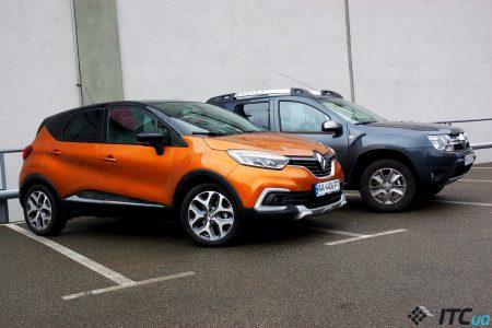 Новые Renault Captur и Renault Duster: один класс, одна цена – разные характеры