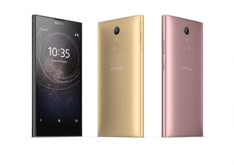 CES 2018: Sony представила новые смартфоны Xperia: середнячки XA2 и XA2 Ultra с упором на съемку фото, а также новый старый бюджетник L2 [CES 2018]