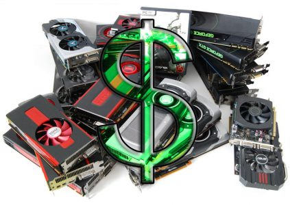 Производители видеокарт намерены поднять цены на свою продукцию