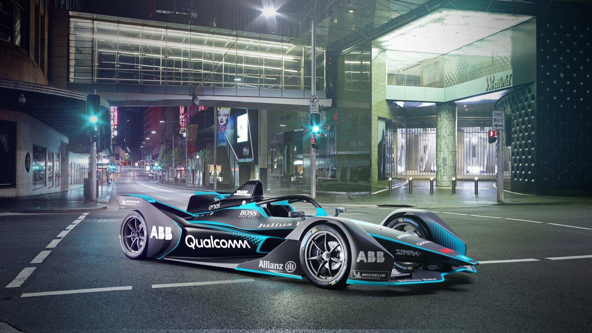 Всети интернет опубликовали тизер нового болида серии Formula E
