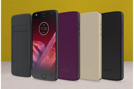 Новый подключаемый модуль Motorola Moto Folio является самым дешевым в линейке и совместим со всеми смартфонами Moto Z