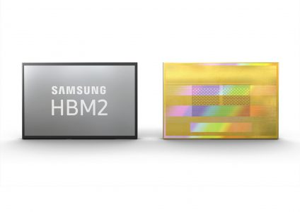 Samsung начала выпускать Aquabolt — самую быструю память HBM2 объемом 8 ГБ