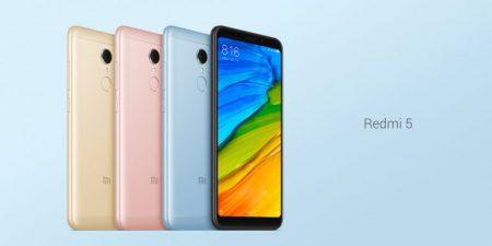 Выпущена версия смартфона Xiaomi Redmi 5 с 4 ГБ ОЗУ за $170