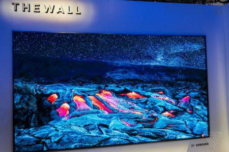 Samsung показала 146-дюймовый модульный телевизор и модель с ИИ для улучшения качества видео до разрешения 8K