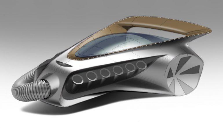 Дизайнеры представили, как может выглядеть первый электромобиль производителя пылесосов Dyson