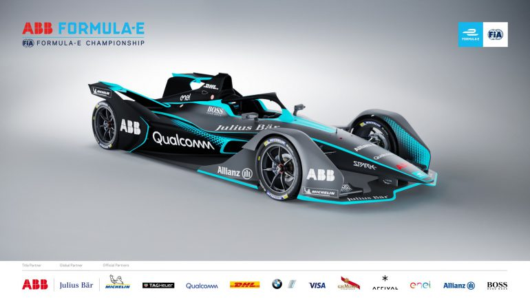 Стало известно, как будут выглядеть болиды электрической Формулы Е 2-го поколения