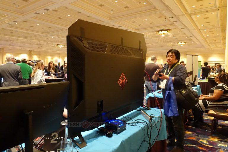 HP показала собственный BFGD-монитор – HP Omen X 65