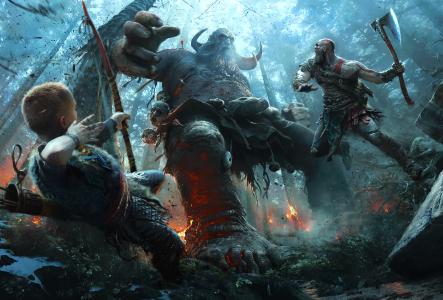 God of War для PlayStation 4 выйдет 20 апреля 2018 года, а пока можно посмотреть сюжетный трейлер игры