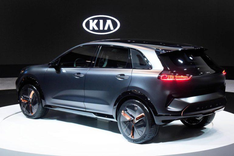 Представлен концепт электрокроссовера Kia Niro EV с батареей на 64 кВт и запасом хода 380 км [CES 2018]