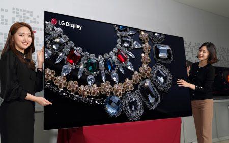 LG Display привезет на CES 2018 первый в мире 88-дюймовый дисплей OLED 8K
