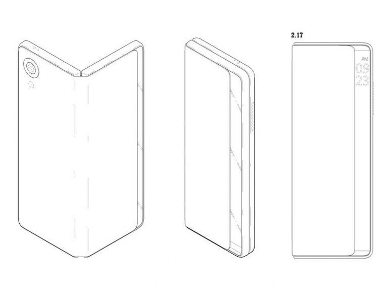 LG запатентовала смартфон в формате вертикальной раскладушки, которую можно трансформировать в планшет
