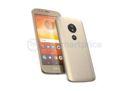 Изображение Moto E5 позволяет оценить дизайн грядущего смартфона