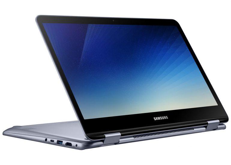 Samsung выпустила новый Notebook 7 Spin (2018) с вращающимся на 360 градусов сенсорным дисплеем
