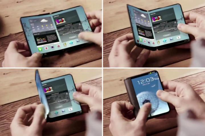 Самсунг Electronics представил складной смартфон Galaxy X