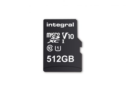 Integral Memory анонсировала карту памяти microSD с рекордной ёмкостью 512 ГБ