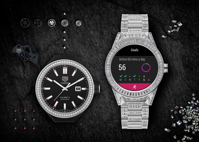 Tag Heuer Connected Full Diamond – самые дорогие умные часы с Android Wear, они стоят $197 тыс.