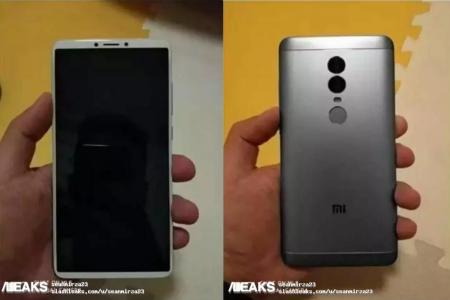 Китайский регулятор опубликовал характеристики Xiaomi Redmi Note 5: тот же безрамочный 5,99″ экран, что и у Redmi 5 Plus, но более мощная платформа, двойная камера и две модификации