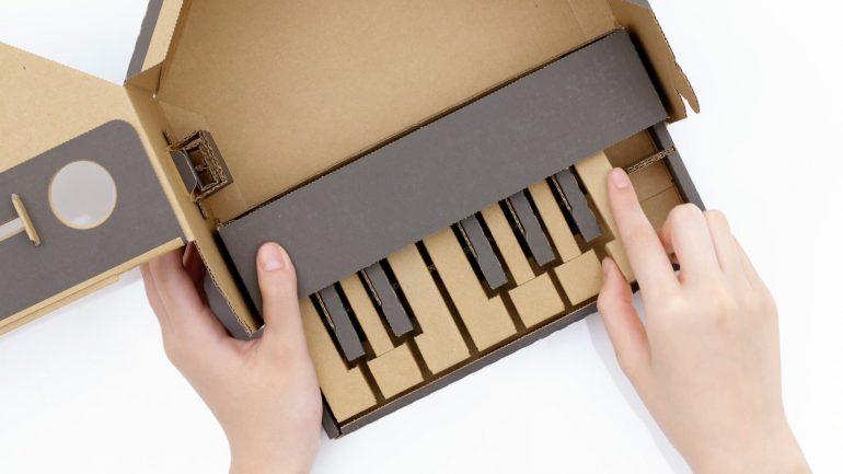 Nintendo анонсировала картонные аксессуары для Switch