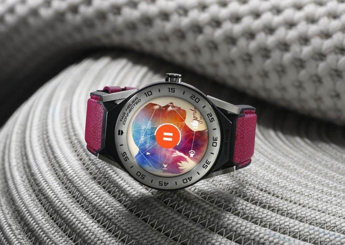 Tag Heuer анонсировала умные часы Connected Modular 41