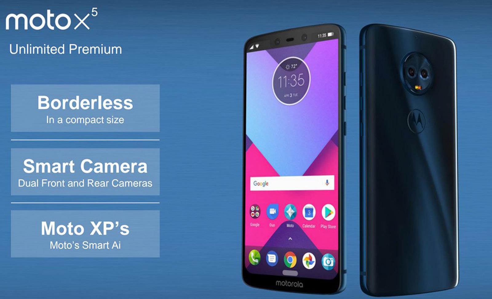 Вглобальной паутине появился тизер телефона Moto E5