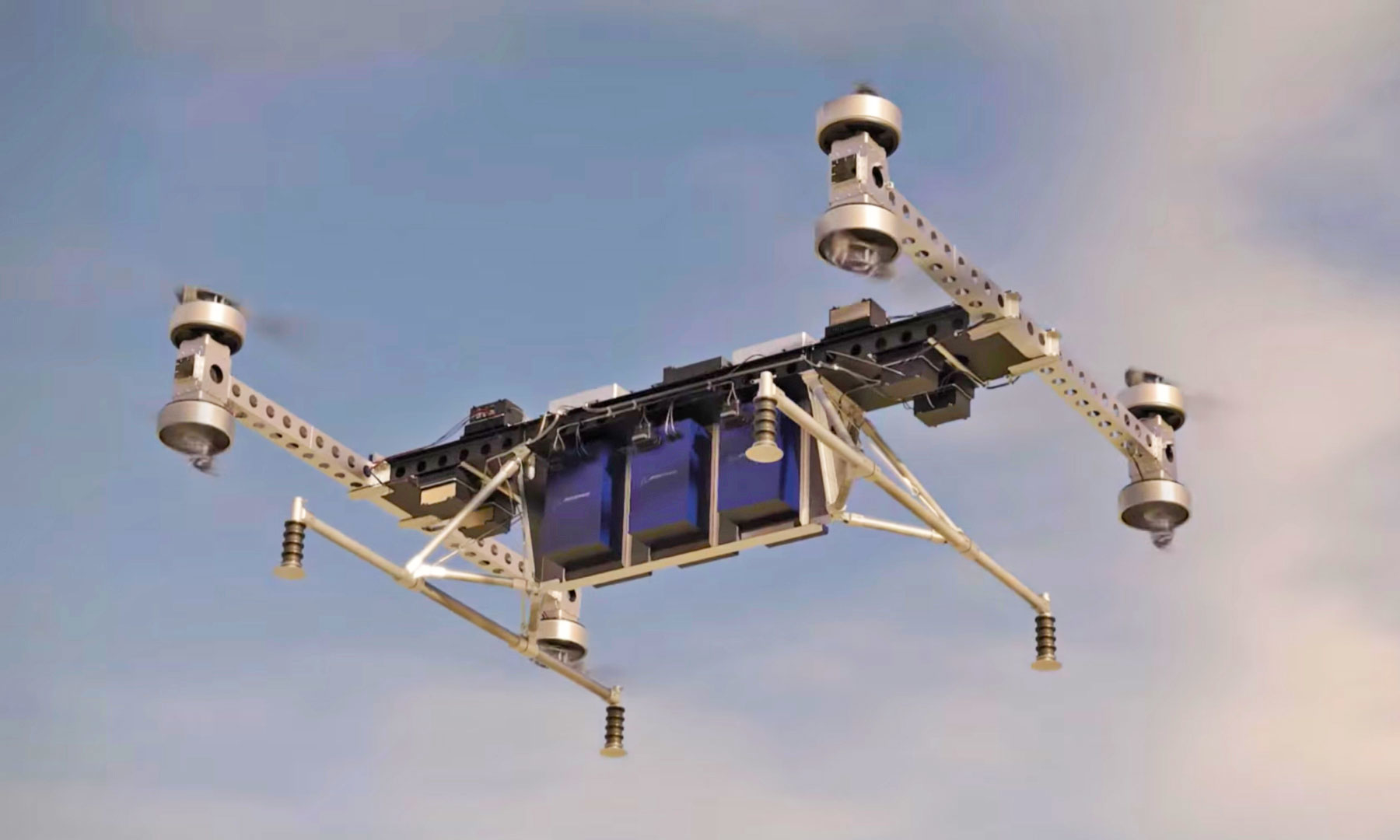 EVTOL— дрон, способный поднять неменее 200кг груза