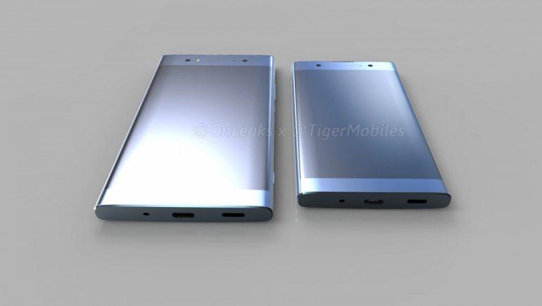 Изображения и видео с трехмерными моделями смартфонов Sony Xperia XA2, Xperia XA2 Ultra и Xperia L2 позволяют лучше оценить дизайн новинок