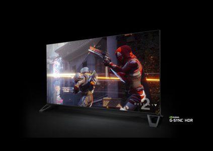 NVIDIA анонсировала 65-дюймовые игровые мониторы с поддержкой 4K, HDR, G-Sync и частоты 120 Гц