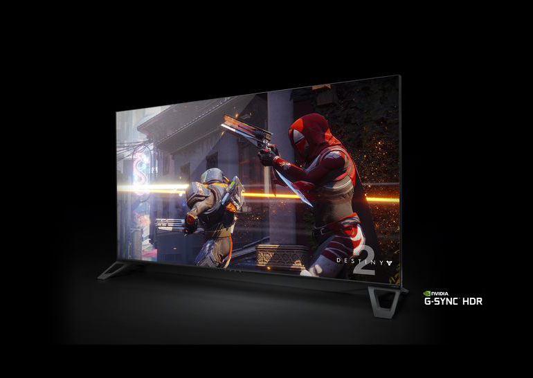 NVIDIA представила 65-дюймовый 4K-монитор совстроенным андроид TV